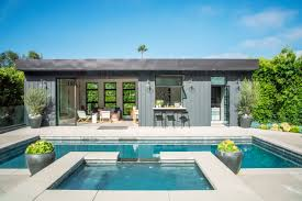 pool house how to design a show stopping pool house sunset magazine