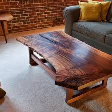 wood slab coffee table diy love this from custommade home design ideas pinterest wood