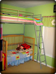 Bunk Bed With Crib On Bottom Before U0026 After U2026 A Metamorphosis Living Laughing U0026 Loving