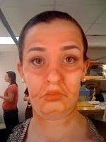 theatrical makeup classes 14 best thick theatre make up images on