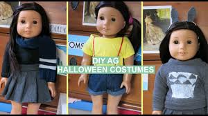 doll halloween costumes diy american doll halloween costumes youtube