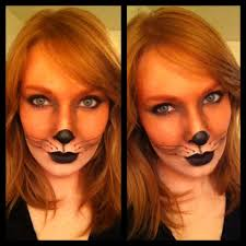 fox makeup tutorial for halloween fox makeup halloween makeup