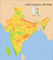 India Population Map by Maps And Map Types