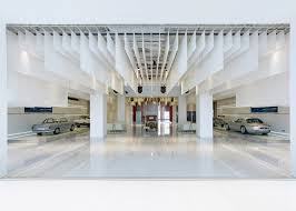 bmw museum inside bmw museum in beijing is an architectural pearl