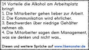 spr che zur arbeit 14 vorteile die alkohol am arbeitsplatz bringt 1 die mitarbeiter