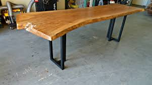 Living Edge Dining Table by American Elm Live Edge Dining Table