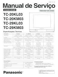 panasonic tvc tc 20 29kml03 service manual documents