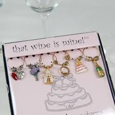 vineyard collection pewter wine charms
