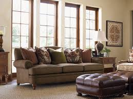 decorating tan sofa set by sprintz furniture plus tan carpet