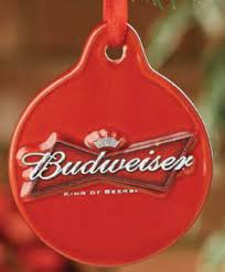 budweiser king of beers disc ornament item 244027 the