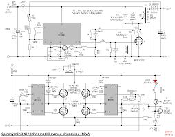 switching transformerless dc ac 12v 230v 150w modified sine wave