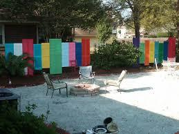 amazing garden fence decoration ideas artistic color decor on