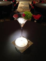 Large Martini Glass Centerpieces by Events With Design Inventory Theme Props Large Martini Glass