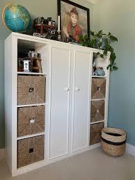 ikea kitchen cabinet sliding doors new again an ikea kallax hack or how to add sliding doors