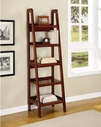 furniture wooden ladder shelving units for your inspirations