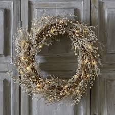 christmas wreaths u0026 garlands the white company uk
