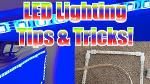 Diy Led Desk L Led Lighting Tips For Gaming Desk Setups 90 Degree Angles