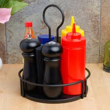 decor condiment caddy restaurant for kitchen and dining room