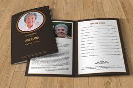 funeral bulletin template funeral program template service funeral program funeral template