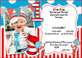 dr seuss 1st birthday inspirational dr seuss birthday invitations templates collection of