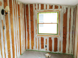 paint paneling painting wood paneling brushes rollers and beer rather square