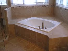 Corner Bathtub Ideas Bathroom Small Rectangular Drop In Corner Tub With Ceramic