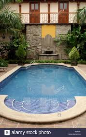swimming pool in the hotel colonial in the spanish colonial city