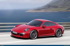 porsche 911 2015 ausmotive com 2015 porsche 911 carrera gts revealed