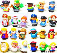 best 30 styles new little people pvc figure dolls toys cute