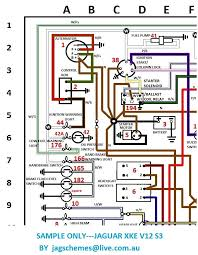jaguar v12 wiring diagram jaguar wiring diagrams instruction