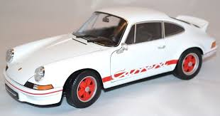 porsche 911 model cars welly scale 1 18 porsche 911 2 7 rs 1973 white