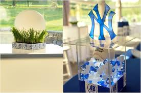 baseball centerpieces baseball theme bar mitzvah wedding sweet 16 party