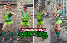 teenage mutant ninja turtle diy halloween costume youtube