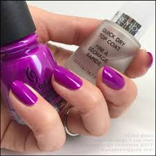 china glaze summer reign w top coat nails pinterest china