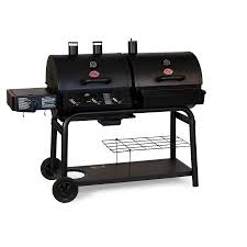 Brinkmann Portable Gas Grill by Shop Char Griller Duo Black Dual Function Combo Grill At Lowes Com