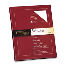 Should A Cover Letter Be On Resume Paper Amazon Com Southworth Rd18icf 100 Cotton Resume Paper 32lb 8