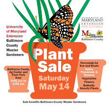 native plants to maryland baltimore county master gardener plant sale 2016 university of
