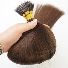 Brown Hair Extensions by Dark Brown 2 100s Nano Ring Tip Human Hair Extensions 100g