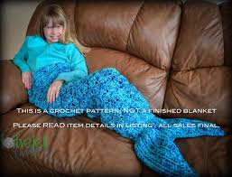 crochet pattern for mermaid tail blanket diy tutorial to