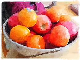 bowl of fruits bowl of fruit waterlogue app preset style u003d natural format u2026 flickr