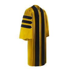 doctorate gown doctorate degree academic regalia acadima