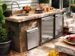 outdoor küche trendige outdoor küche im garten einrichten ideen für den außenbereich