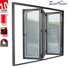 wooden profile folding shutter door wooden profile folding