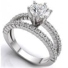 bague mariage or blanc diamant rond brillant 4 griffes or blanc bague de mariage et bague