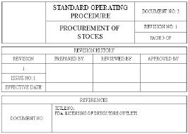 Pharmacy Standard Operating Procedures Template pharmacy a standard operating procedure sop for pharmacy