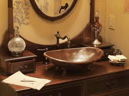 Antique Looking Bathroom Vanity by Antique Bathroom Vanity With Vessel Sink Home Design Ideas