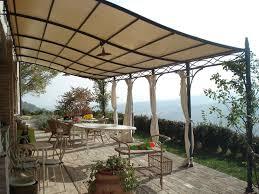tettoia ferro battuto tettoie in ferro battuto pergole e tettoie da giardino