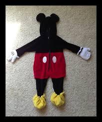 Halloween Mickey Mouse Costume Free Euc Halloween Mickey Mouse Costume 18 24m Disney Store