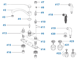 delta two handle kitchen faucet repair delta 2 handle kitchen faucets b2410lf two handle kitchen faucet