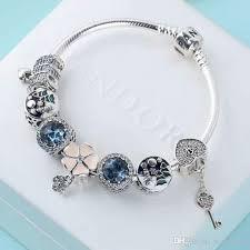 pandora bracelet sets images Pandora bracelets christmas sale sterling silver 925 dark blue jpg